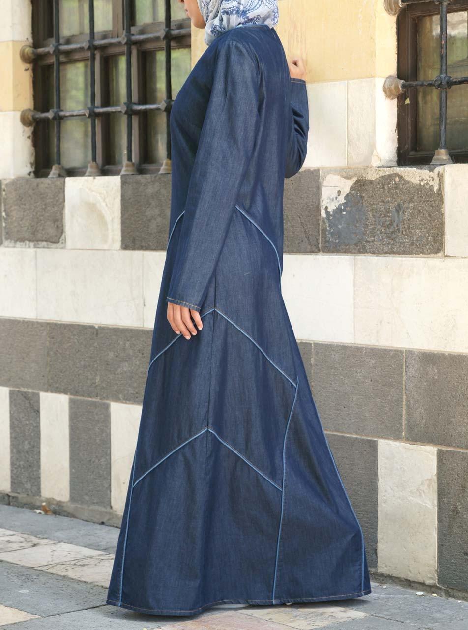 Denim Rashiqah Dress