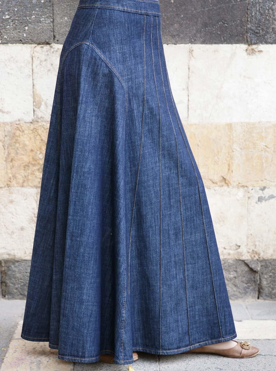 Alana Denim Skirt